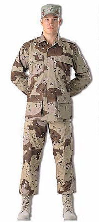 Desert Camoflage Uniform 2